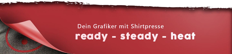Dein Grafiker mit Shirtpresse